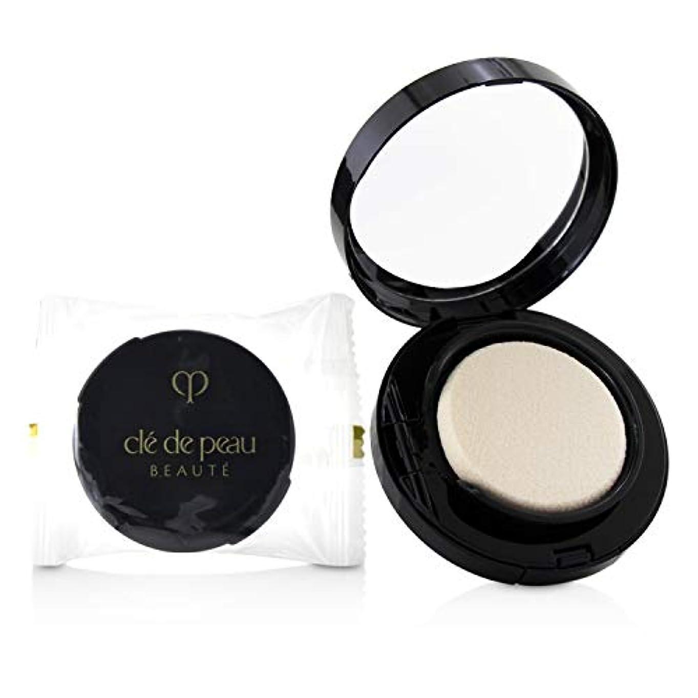 現代の浅いコンテストクレ?ド?ポー Radiant Cream To Powder Foundation SPF 25 - # O10 (Very Light Ochre) 12g/0.42oz並行輸入品