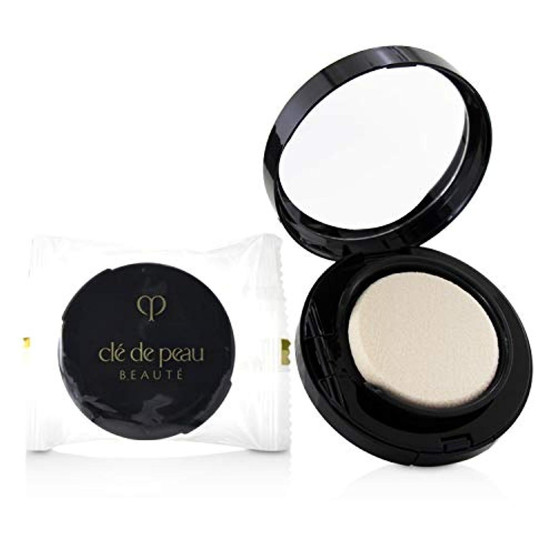 記念碑歯科医強要クレ?ド?ポー Radiant Cream To Powder Foundation SPF 25 - # O10 (Very Light Ochre) 12g/0.42oz並行輸入品
