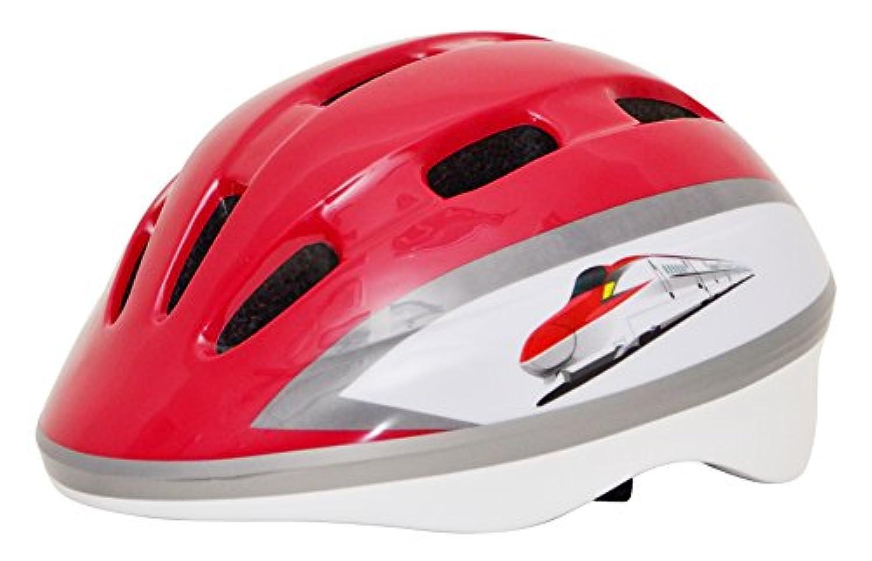 Kanack(カナック) キッズヘルメット 秋田新幹線 E6系 こまち レッド H002_E6 (頭囲 50cm~56cm)