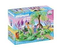 Playmobil Fairyland 5444 Magic Gem Fount Island ブロック おもちゃ (並行輸入)