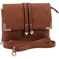 Esther Women Crossbody Bags with Adjustable Shoulder Strap MKF Collection Designer Handbags for Women by Mia K. Farrow