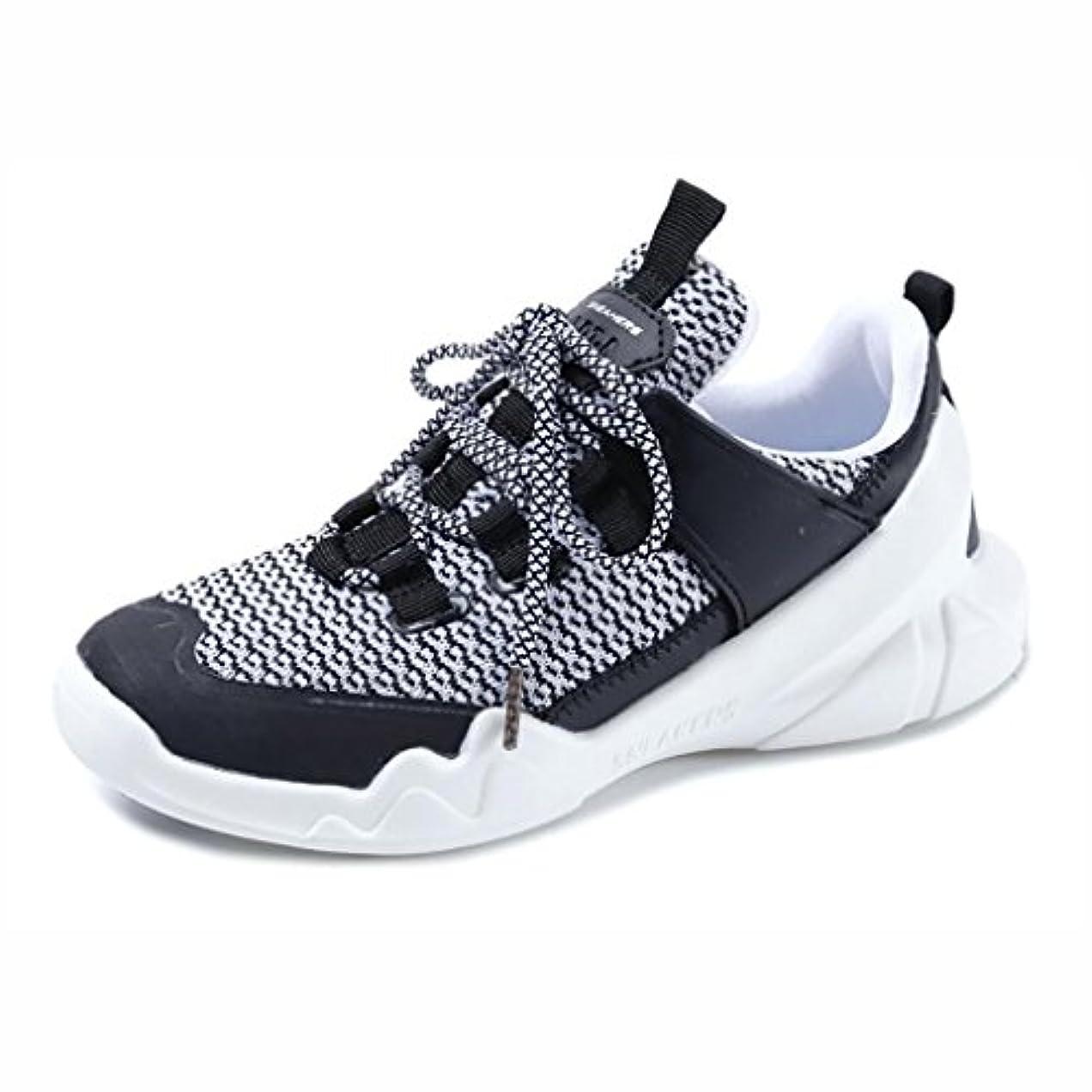 弁護士除外する偏見レディーススポーツランニングシューズ、2018夏の新通気性靴、ショックアブソープションの韓国語バージョン、アウトドアカジュアルシューズ (色 : A, サイズ : 37)