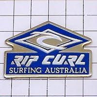 限定 レア ピンバッジ リップカールのサーフィン波オーストラリア ピンズ フランス