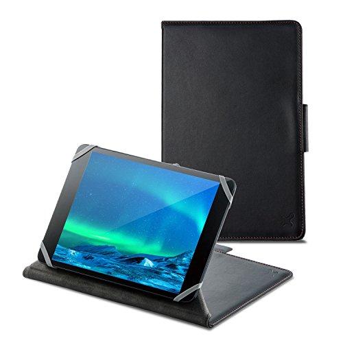 タブレット汎用ブックタイプケース/ソフトレザー/カメラ対応/7.0~8.4inch/ブラック TB-08CMLBK 1個