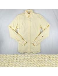GUY ROVER 長袖シャツ 051PL130L yellow M【A11905】 ギローバー [並行輸入品]