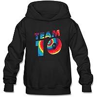Youth Tie Dye Jake Paul Team 10 Hoodie Sweatshirt Suitable for 10-15yr Old