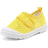 CIOR Boys & Girls' Breathable Mesh Slip-on Sneakers Sandals Water Shoe for Running Pool Beach Toddler/Kids Size: 10.5 Little Kid