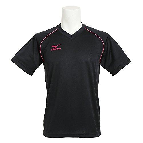 [해외]미즈노 (미즈노) XB 남여 원 포인트 반팔 사례 셔츠 V2MA640397/Mizuno (Mizuno) XB unisex one point short-sleeved practice shirt V2MA 640397