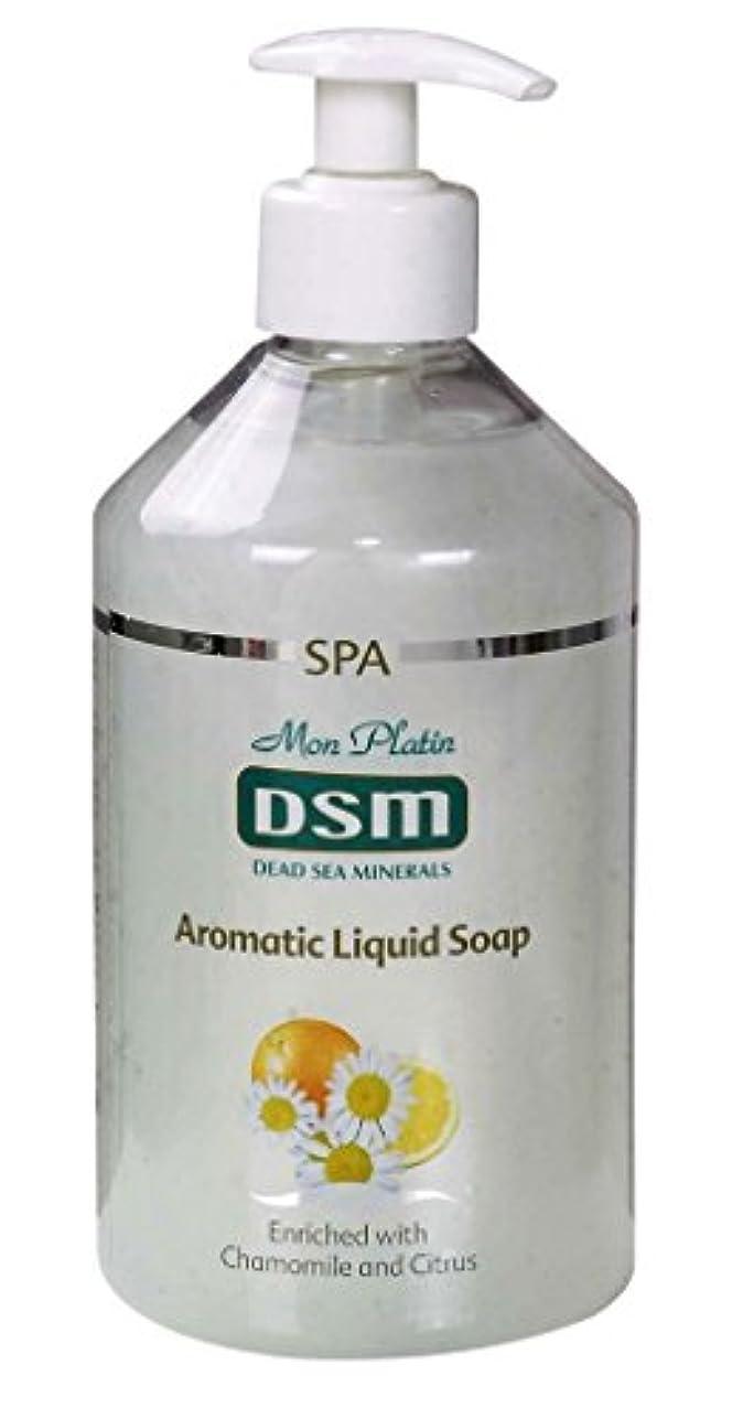有料人生を作る牽引かぐわしい香り付き官能的な、多目的の石鹸なしの石鹸 500mL 死海ミネラル A sensual, multi-purpose soapless soap, enriched with aromatic fragrances