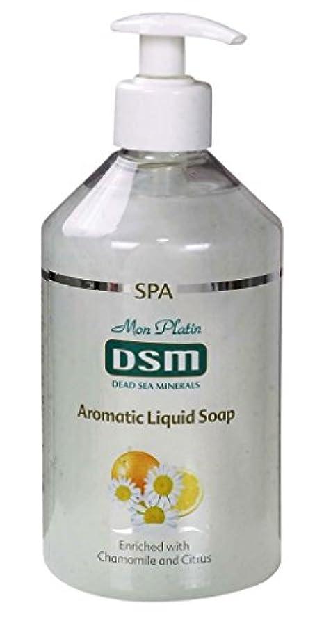 医薬ほぼ眉をひそめるかぐわしい香り付き官能的な、多目的の石鹸なしの石鹸 500mL 死海ミネラル A sensual, multi-purpose soapless soap, enriched with aromatic fragrances