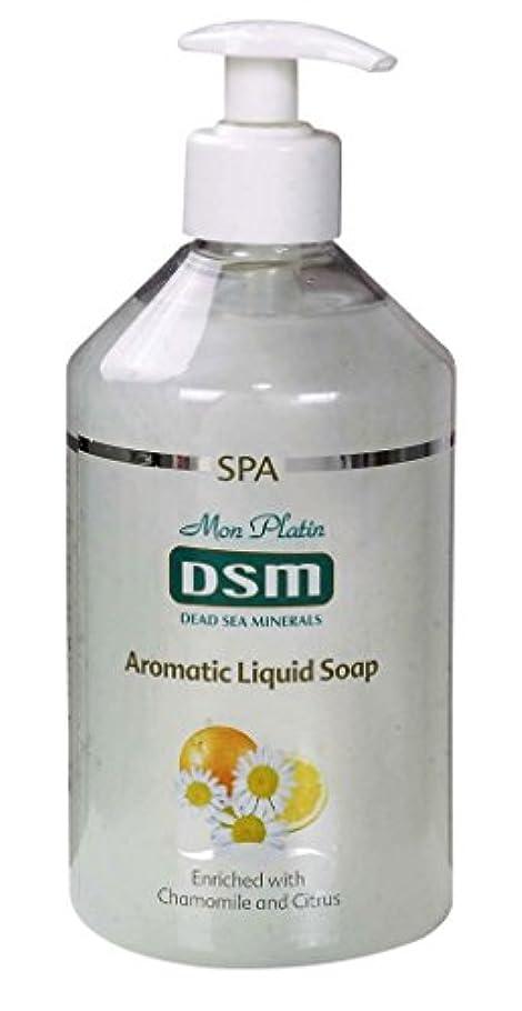 かぐわしい香り付き官能的な、多目的の石鹸なしの石鹸 500mL 死海ミネラル A sensual, multi-purpose soapless soap, enriched with aromatic fragrances
