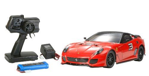 1/10 XBシリーズ No.123 XB フェラーリ 599XX (TT-01シャーシ TYPE-E) プロポ付き完成品 57823