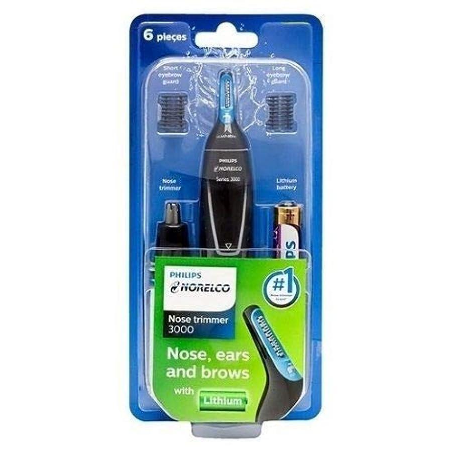 養う海外略語Philips NT3000 鼻/耳&眉毛トリマー Series 3000 [並行輸入品]
