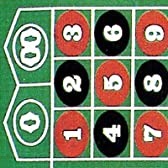 【カジノマット/ゲームマット販売】ルーレットレイアウト