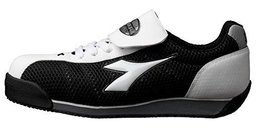 ドンケル/ディアドラ DIADORA 安全作業靴 キングフィッシャー 白/黒 27.0cm(3881...