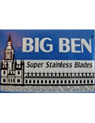 Big Ben Super Stainless 両刃替刃 5枚入り(5枚入り1 個セット)【並行輸入品】