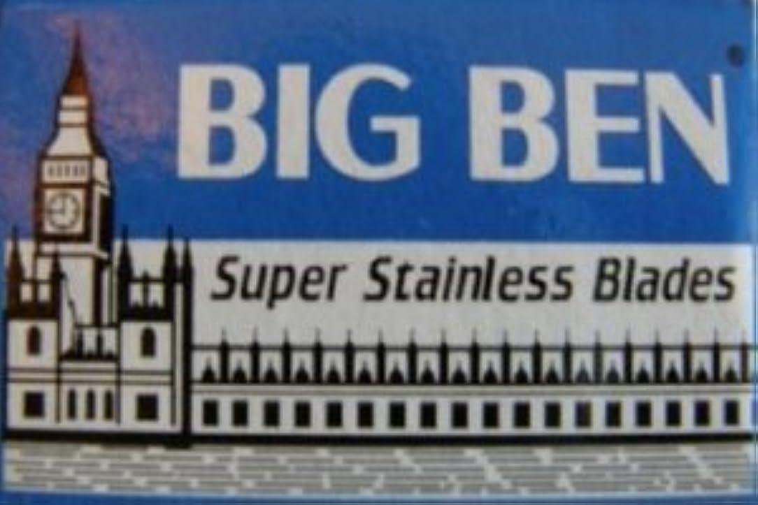 タヒチ人道的群がるBig Ben Super Stainless 両刃替刃 5枚入り(5枚入り1 個セット)【並行輸入品】