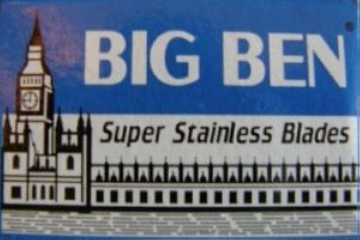 酸化物分岐するスクラブBig Ben Super Stainless 両刃替刃 5枚入り(5枚入り1 個セット)【並行輸入品】