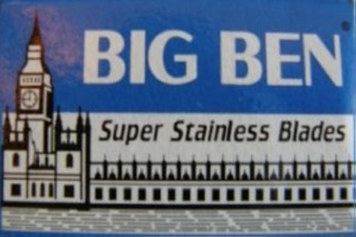 十一不倫地下鉄Big Ben Super Stainless 両刃替刃 5枚入り(5枚入り1 個セット)【並行輸入品】