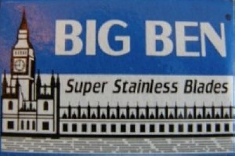 逸話ハウジング複製Big Ben Super Stainless 両刃替刃 5枚入り(5枚入り1 個セット)【並行輸入品】