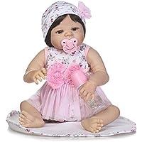 23インチ57 cmリアルReal Looking新しいBorn人形フルボディソフトシリコンRebornベビーガール人形幼児用おもちゃ解剖学的に正しい子クリスマス誕生日ギフト