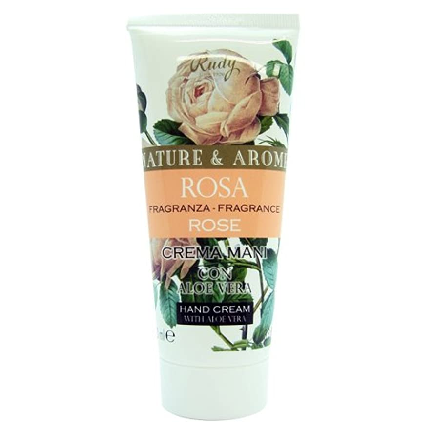 兄晩餐ショートRUDY Nature&Arome SERIES ルディ ナチュール&アロマ Hand Cream ハンドクリーム Rose ローズ