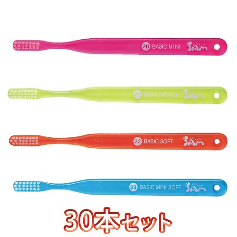 中庭補助金非効率的なサムフレンドベーシック歯ブラシ30本入(20/21/22/23) (?21)