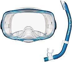 リーフツアラー(ReefTourer) マスク シュノーケル 2点セット RC0102 アクアマリン