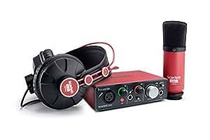Focusrite DTMセット Scarlett Solo Studio Pack USBオーディオインターフェイス / コンデンサーマイク / モニターヘッドフォン レコーディングパッケージ