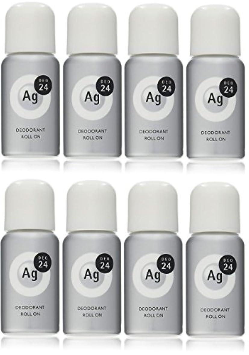 【まとめ買い】エージーデオ24 デオドラントロールオンEX 無香料 40mL (医薬部外品)×8個