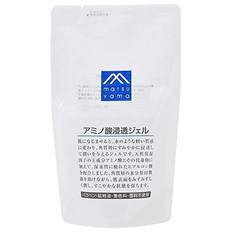 甘美な差し控える側面Mマーク(M-mark) アミノ酸浸透ジェル 詰替用 化粧水 140mL