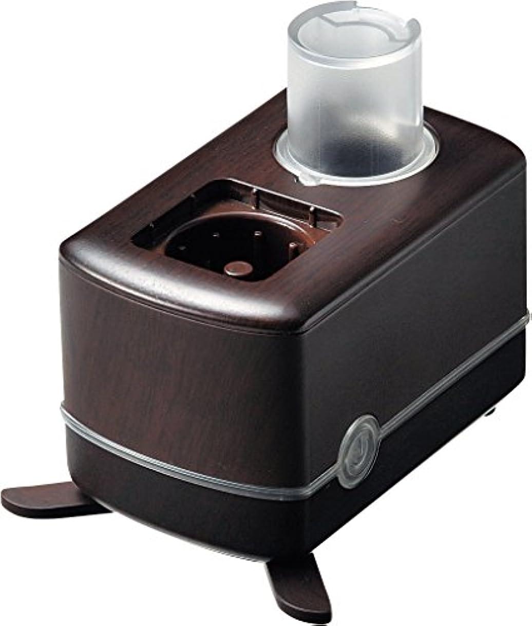 落花生似ているコールドラドンナ PETボトル加湿器 ウッドパターン Ver. 2 WD57-HF ブラウン