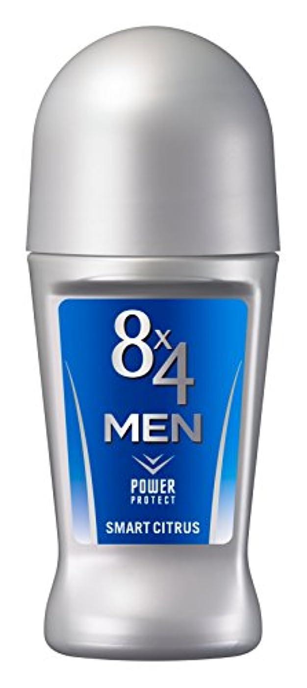 皮肉な骨髄解決する8x4メン ロールオン スマートシトラス 60ml 男性用 制汗剤 デオドラント