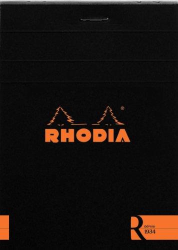 ロディア ブロックR No.11 横罫 ブラック