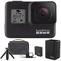 【トラベルキット/AKTTR-001+充電器+バッテリーセット/AADBD-001付】GoPro CHDHX-701-FW HERO7 Black ウェアラブル・カメラ