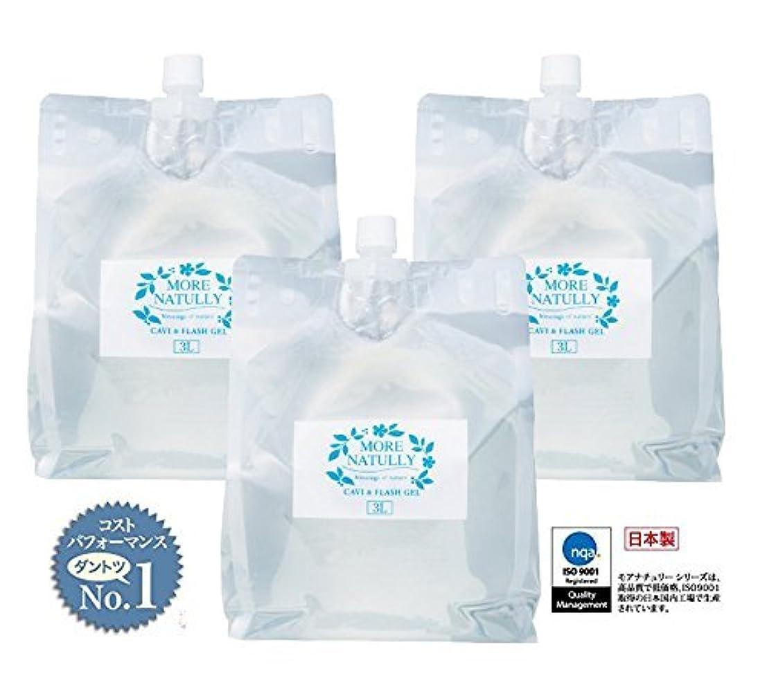 希少性予防接種する情緒的モアナチュリー キャビ&フラッシュジェル 【ソフト】3kg×3袋