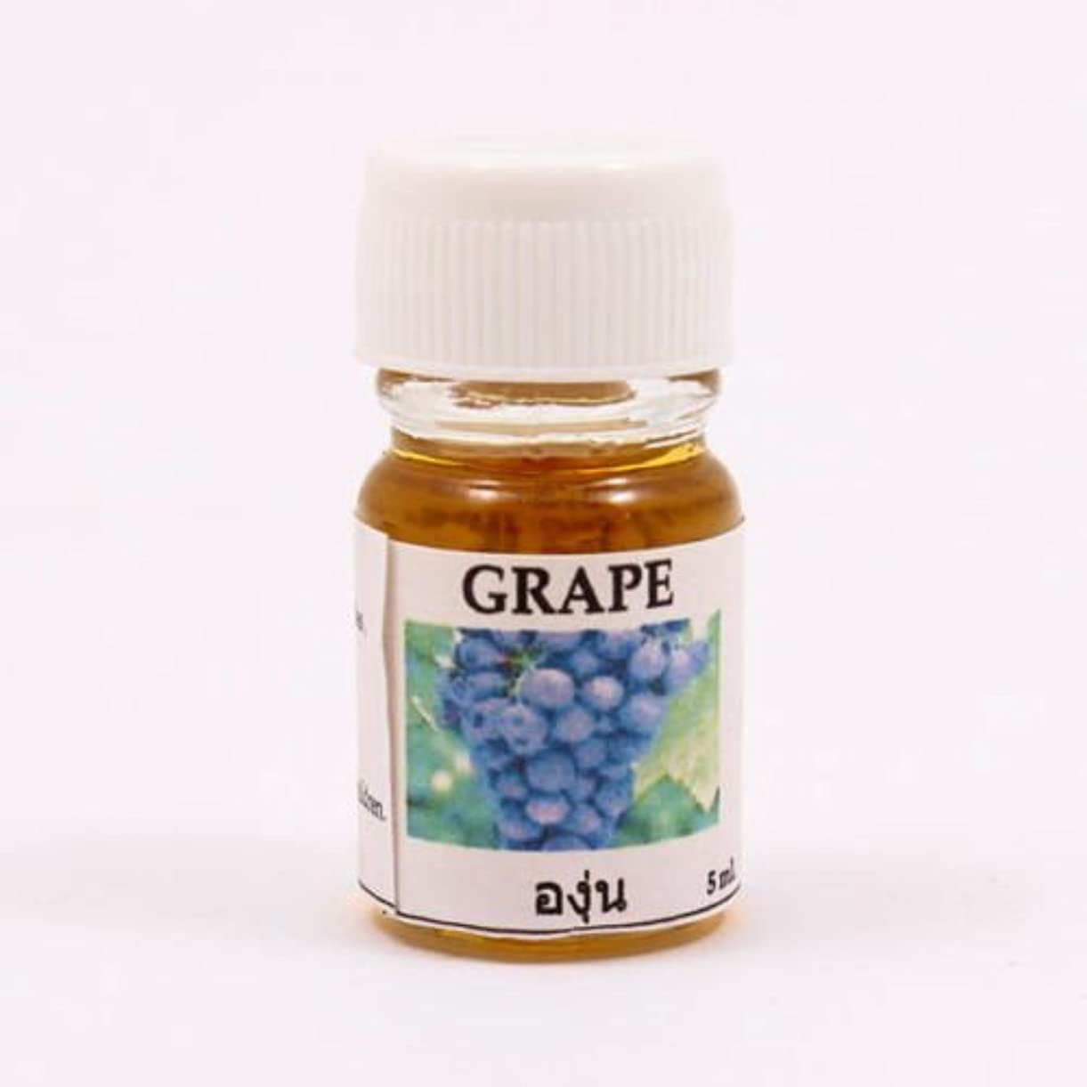 廊下熱狂的なほうき6X Grape Aroma Fragrance Essential Oil 5ML. (cc) Diffuser Burner Therapy