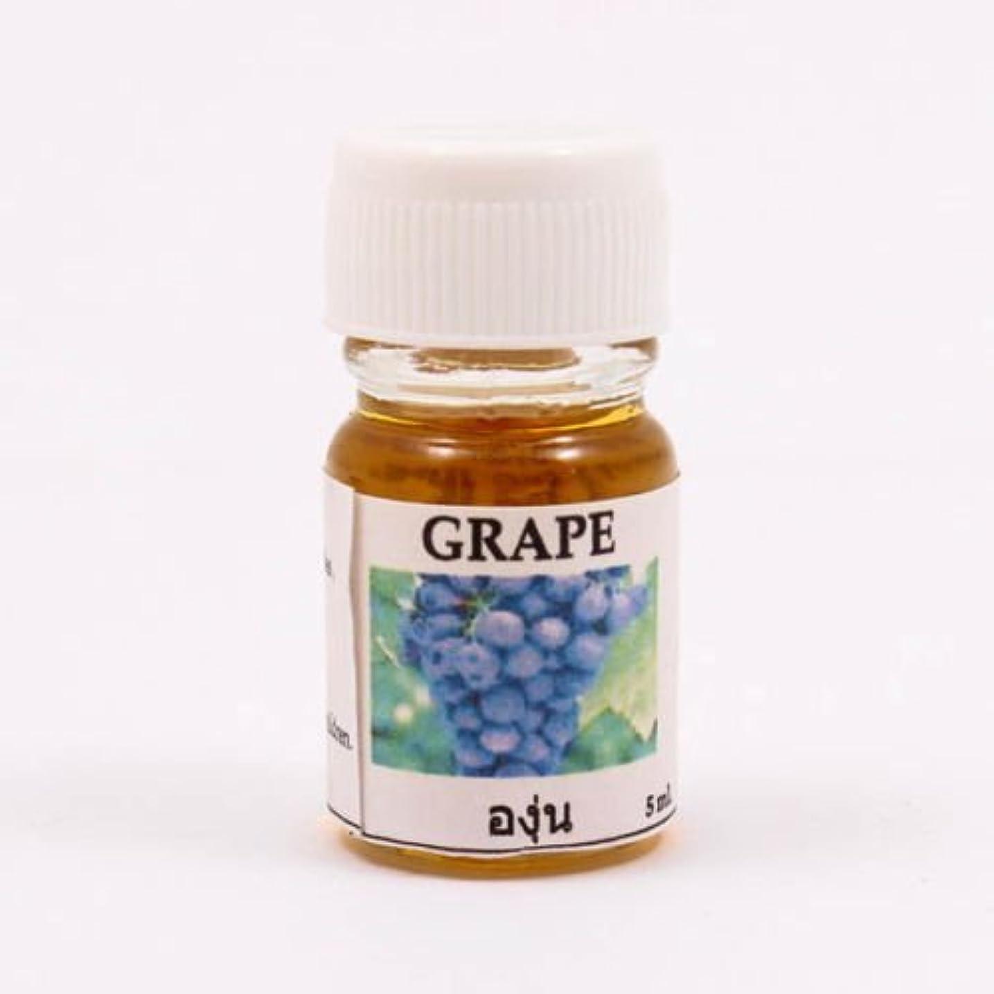 浸した遅らせる交渉する6X Grape Aroma Fragrance Essential Oil 5ML. (cc) Diffuser Burner Therapy