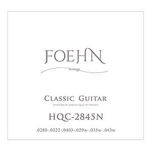 FOEHN HQC-2845N Normal Tension クラシックギター弦×6セット