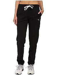 [PUMA(プーマ)] レディースセータージャンプスーツ Sweat Pant Black L