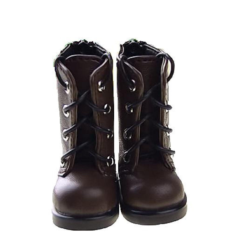 ドール BJDドール  ドールフィギュア BJD専用ブーツ 専用靴 シューズ スケール1/6 (ブラウン)