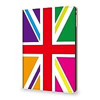 Kintsu iPad Pro 9.7インチ / iPad 2018 2017 ケース ユニオンジャック イギリス国旗 タイプD PUレザー 三つ折スタンド