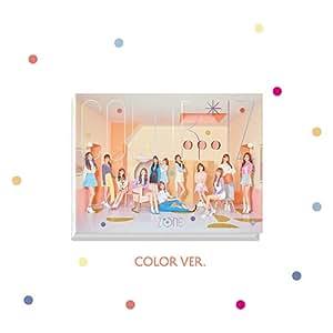 アイズワン - COLOR*IZ [COLOR ver.] (1st Mini Album) CD+Photobook+Photocards+2Folded Posters [韓国盤]