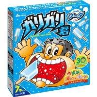 赤城乳業 ガリガリ君 ソーダ味7本入ボックス×6入