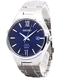 [セイコー]SEIKO 腕時計 ソーラーチタンパワーリザーブ SNE407P1 メンズ [並行輸入品]
