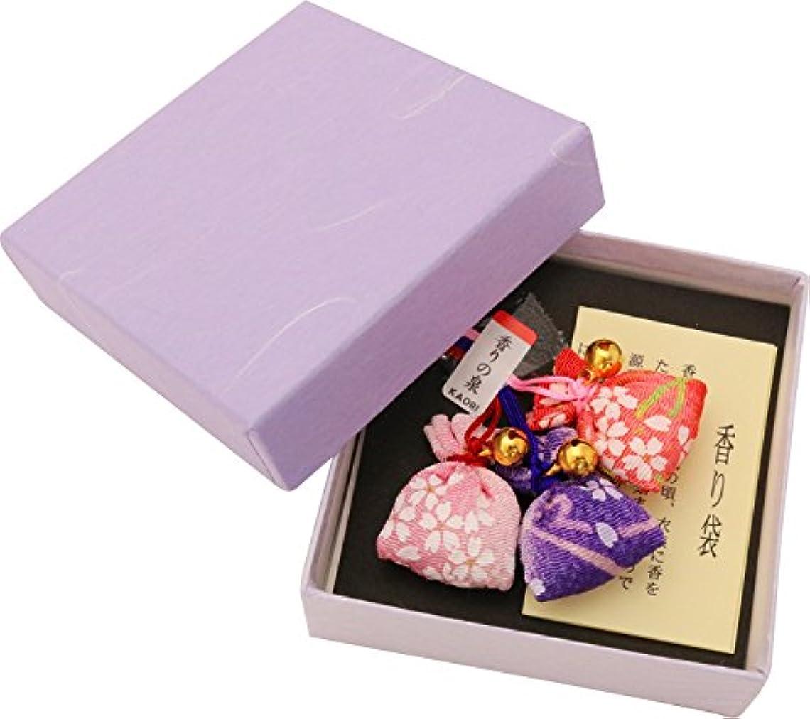 部分シード設計ユーアイ 香り袋 香の泉 3個入