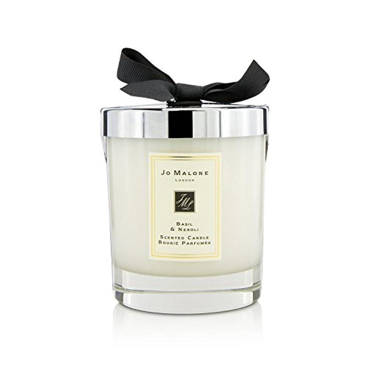 保安シャー多様性[Jo Malone(ジョーマローン)] バジル&ネロリの香りのキャンドル 200g (2.5 inch)