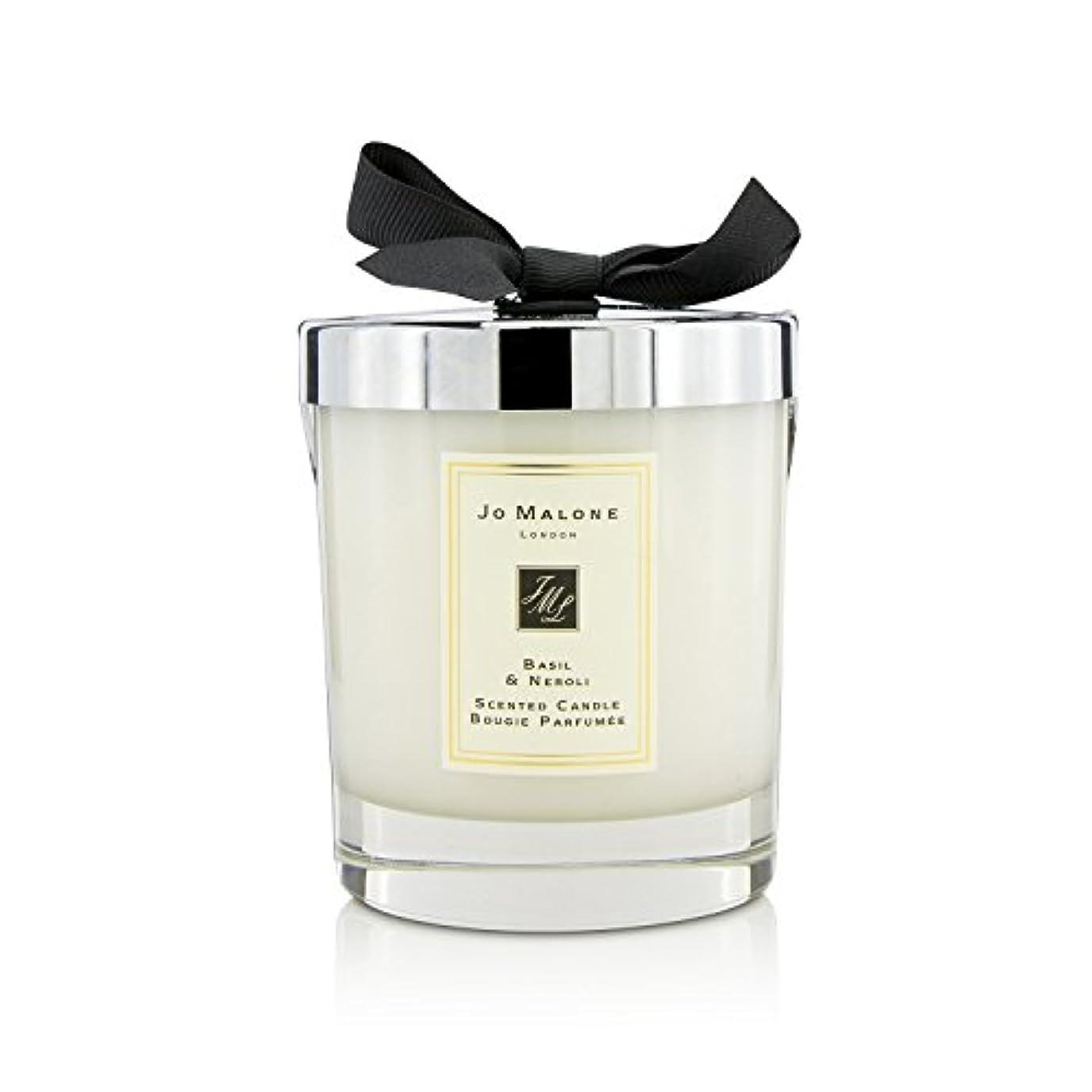 即席最後に革命[Jo Malone(ジョーマローン)] バジル&ネロリの香りのキャンドル 200g (2.5 inch)