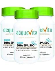 アクアヴィータ スーパーDHA-EPA500(アクアビータ?Acquavita)【3本セット】
