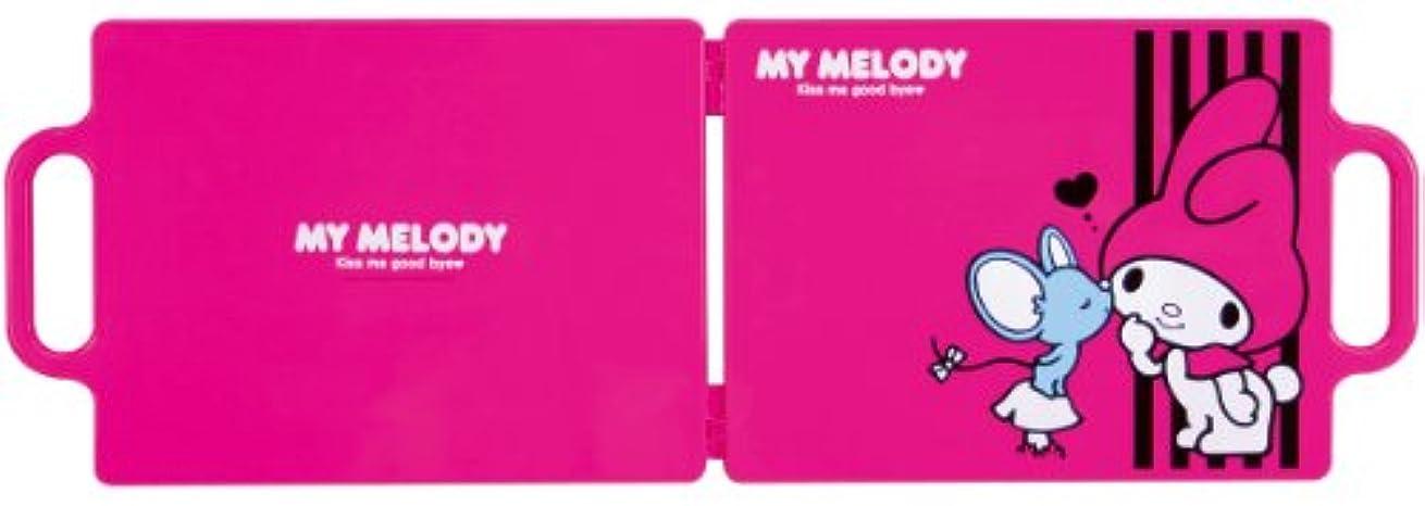 黒板溶融狂ったMy Melody バックミラー マイメロピンキッシュ YM-102